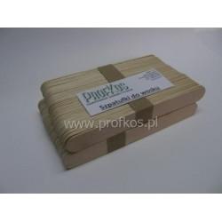 Szpatułki drewniane do depilacji 148x18 mm 100 szt