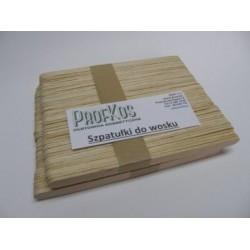 Szpatułki drewniane do depilacji 134x10 mm 100 szt