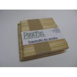 Szpatułki drewniane do depilacji 94x9 mm 100 szt