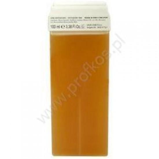 Wosk do depilacji naturalny miodowy Sonobella 100 ml szeroka rolka