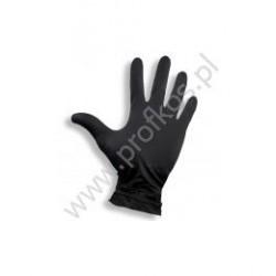 Rękawice nitrylowe czarne 100 szt
