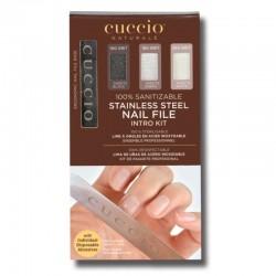Pilnik do paznokci metalowy Cuccio + wkłady