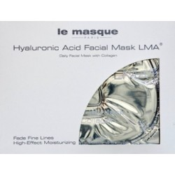 Maska kolagenowa z kwasem hialuronowym Hialuronic Acid Facial Mask LMA