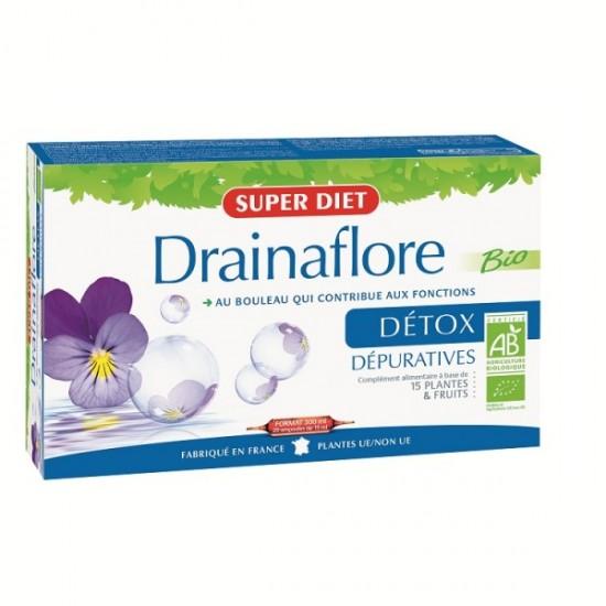 Drainaflore detoksykacja BIO Super Diet 20x15 ml
