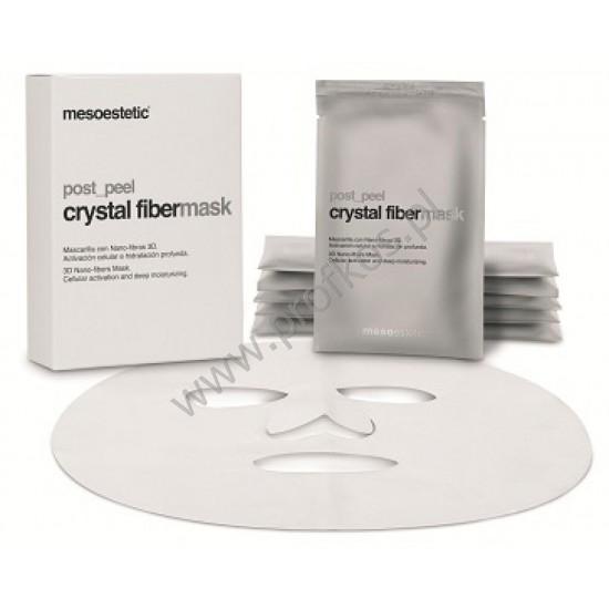 Maska regeneracyjna do odbudowy warstwy hydrolipidowej Crystal Fiber Mask Mesoestetic 5x25 ml