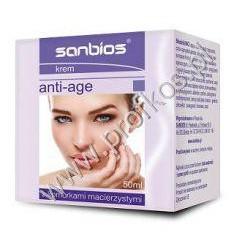 Krem Anti-Age z komórkami macierzystymi Sanbios 50 ml