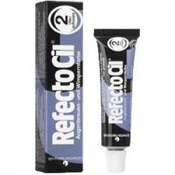 Henna do brwi i rzęs czarno-niebieska RefectoCil 2.0 15 ml