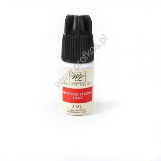 Klej do rzęs New Very Strong Glue Wonder Lashes czarny 3 ml