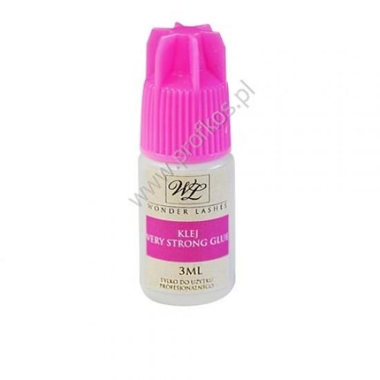 Klej do rzęs Very Strong Glue Wonder Lashes czarny 3 ml