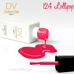 Lakier hybrydowy UV nr 124 Lollipop Dolce Vita