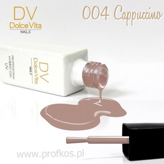 Lakier hybrydowy UV nr 004 Cappuccino Dolce Vita