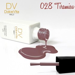 Lakier hybrydowy UV nr 028 Tiramisu Dolce Vita