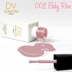 Lakier hybrydowy UV nr 002 Baby Rose Dolce Vita