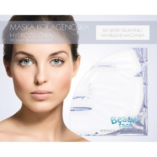Maska kolagenowa odmładzająco wzmacniajaca do skóry delikatnej, atopowej i na kruche naczynka