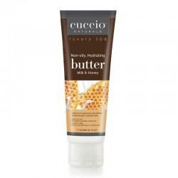 Luksusowe masło do dłoni miód i mleko Cuccio 113 g