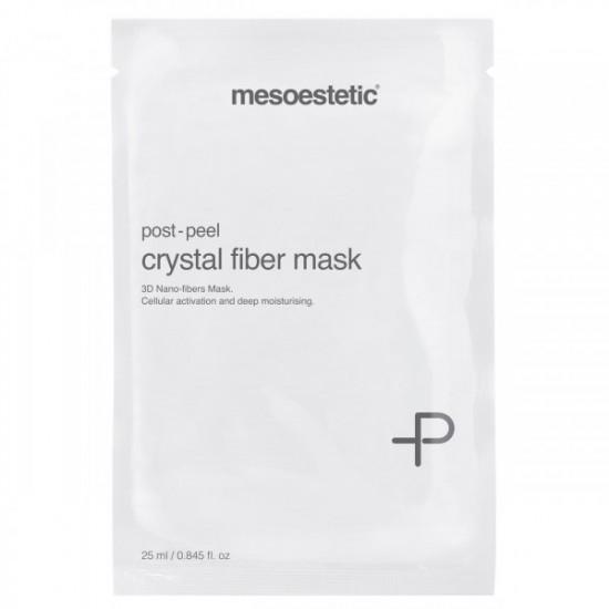 Maska regeneracyjna Post Peel Crystal Fiber Mask Mesoestetic 1x25 ml