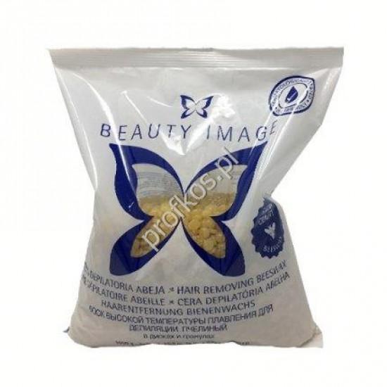 Wosk twardy naturalny Beauty Image granulki 1 kg