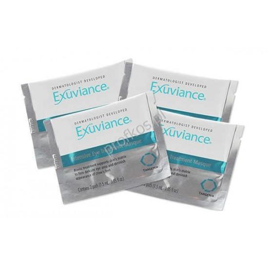 Exuviance Odmładzające płatki pod oczy z retinolem - Intensive Eye Treatment Pads - 1 para