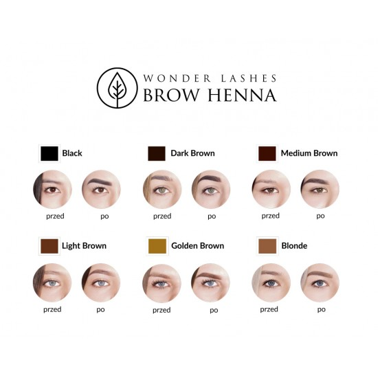 Brow Henna Pudrowa Wonder Lashes