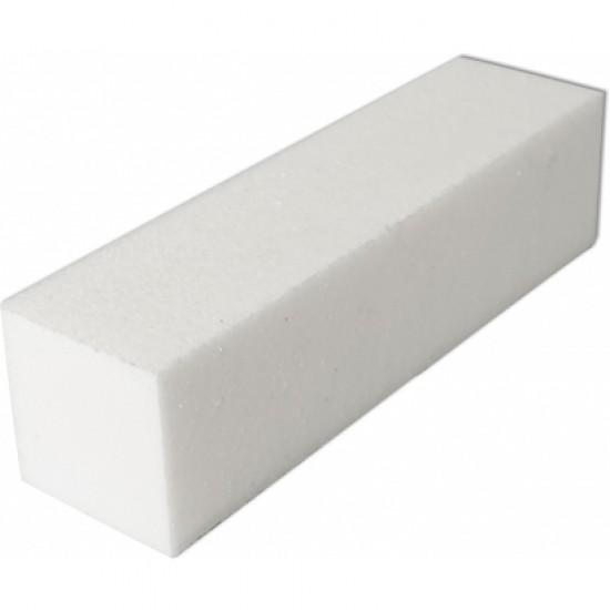 Blok polerski biały pilnik kostka bloczek