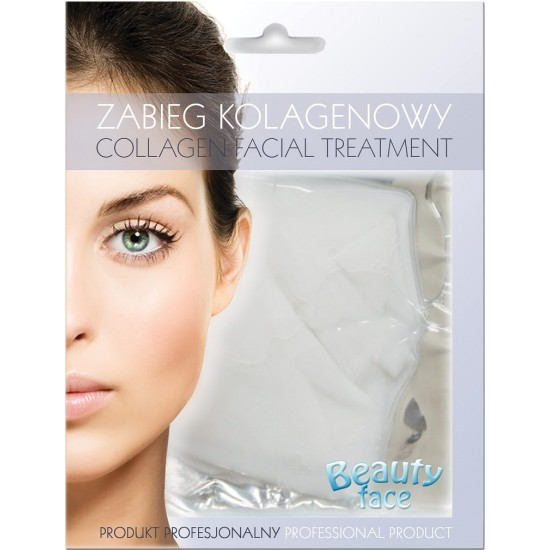 Maska kolagenowa hydrożelowa do skóry delikatnej, atopowej i na kruche naczynka