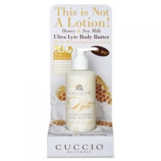 Masło do ciała mleko sojowe i miód Cuccio 237 ml