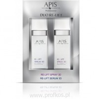 Botoks w sprayu Duo Re-Lift Spray 3D & Re-Lift Serum 3D Apis 2x50 ml