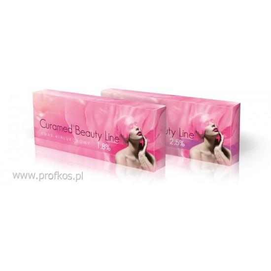 Kwas hialuronowy 1,8% do mezoterapii Curamed Beauty Line 4x1,5 ml PROMOCJA