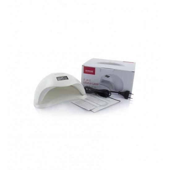 Lampa UV LED 48W Sun5 Dual do manicure hybrydowego