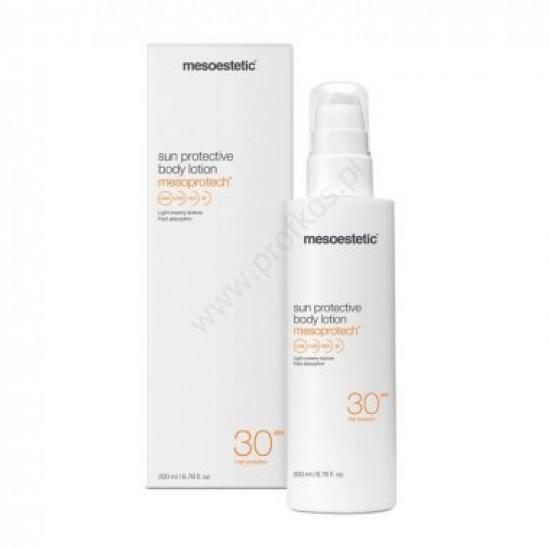 Wodoodporna emulsja przeciwsłoneczna Mesoprotech body lotion SPF 30 Mesoestetic 200 ml