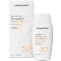 Olejek przeciwsłoneczny do skóry dojrzałej SPF 50+ Mesoprotech Mesoestetic 50 ml